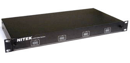 Nitek VH3256 - 32 Port Active Video Balun Hub - Bulk CCTV Store