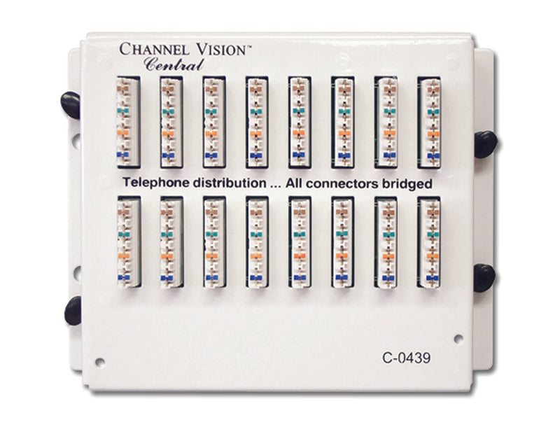 Channel Vision C-0439 Telephone Distribution Module - 15-Location - Bulk CCTV Store