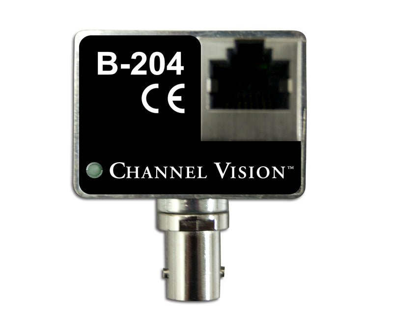 Channel Vision B-204 - IP Camera Balun Over Coax Converter Kit - Bulk CCTV Store