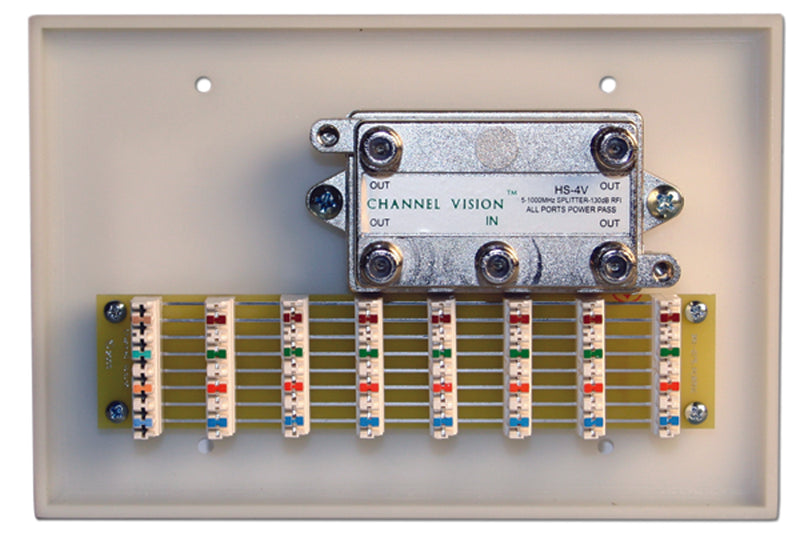 Channel Vision C-0221 Basic Structured Wiring System - Bulk CCTV Store