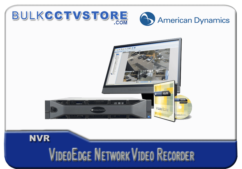 American Dynamics ADVR40S01 - VideoEdge NVR 1 Additional IP Camera License - Bulk CCTV Store