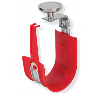 "Platinum Tools HPH32MV-10R 2"" 90 Degree Top Mount HPH J-Hook Size 32 Red with Magnet 10pc Box - Bulk CCTV Store"