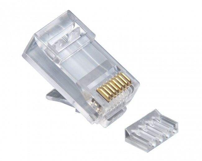 Platinum Tools Standard CAT6 2 Piece High Performance RJ45 Connectors - Bulk CCTV Store
