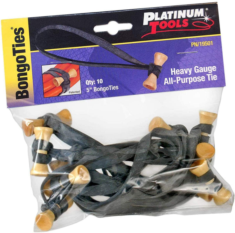Platinum Tools BongoTies 19501 10/Bag. - Bulk CCTV Store