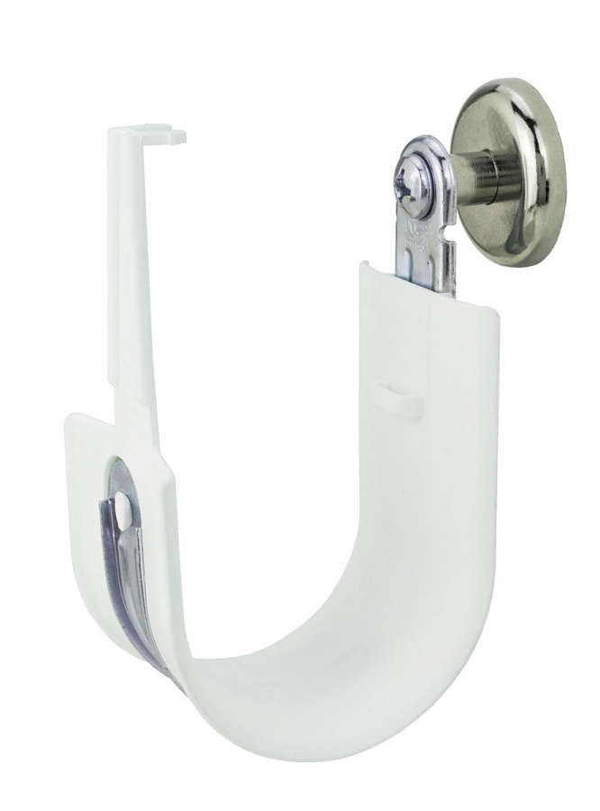 "Platinum Tools HPH32MH-10 Side 2"" Standard HPH J-Hook Size 32 White with Magnet 10pc Box - Bulk CCTV Store"