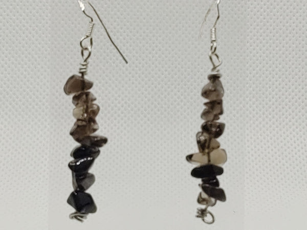 Smokey Quartz Dangle Earrings