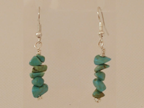 Howlite Dangle Earrings