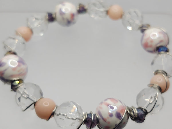 Wire Bangle In Pastels