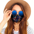 AOP+ Apparel Boho birds 7 layer reusable, washable face mask