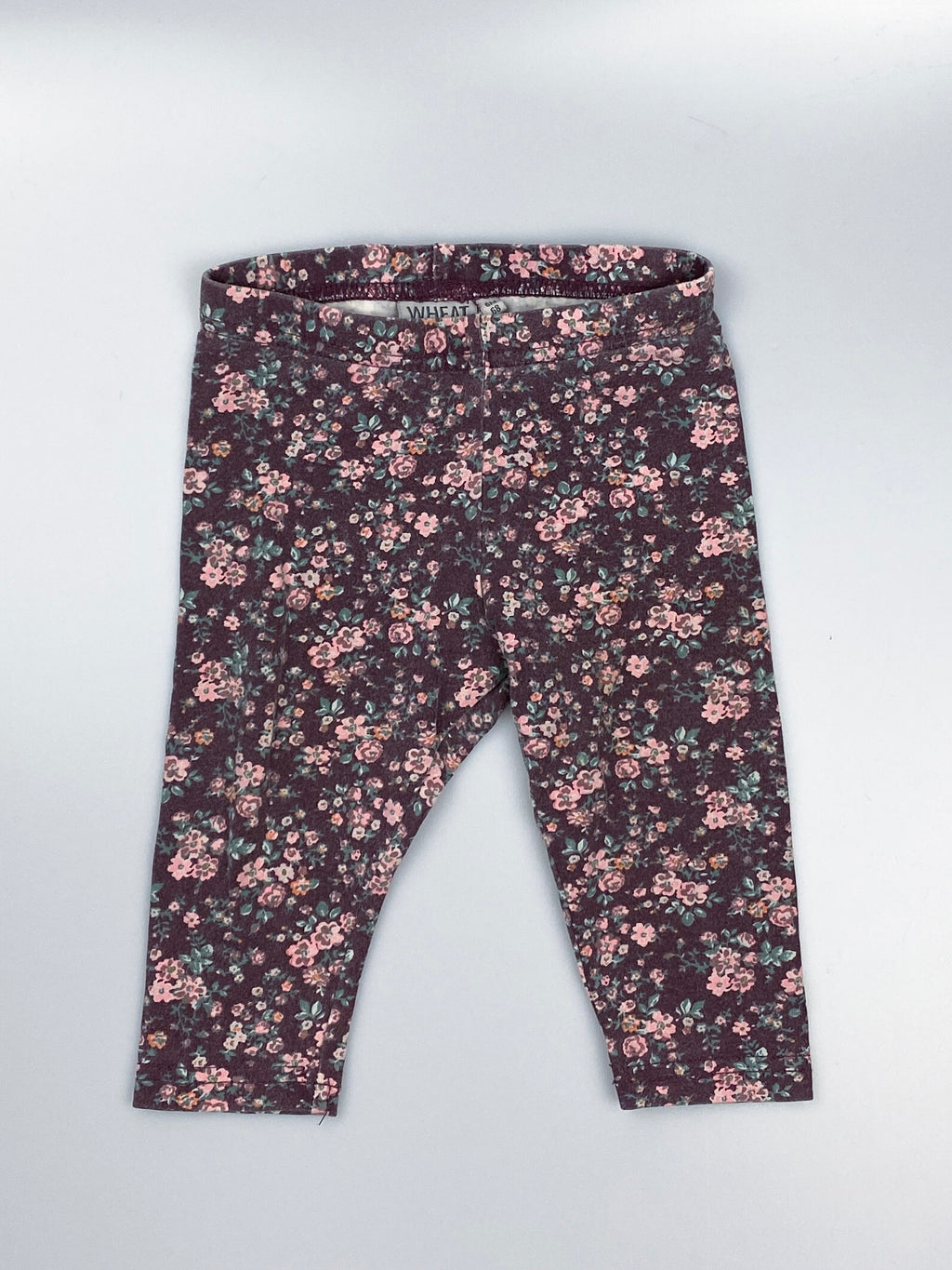Leggings m. blomster