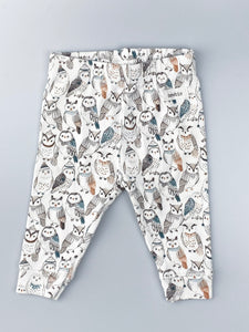 Leggings m. ugler
