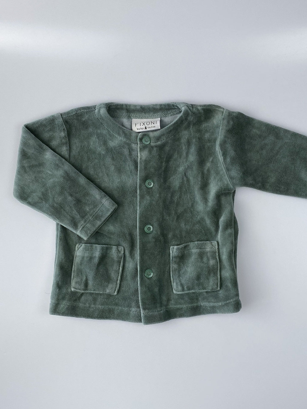 Cardigan i velour - Secondkiddo