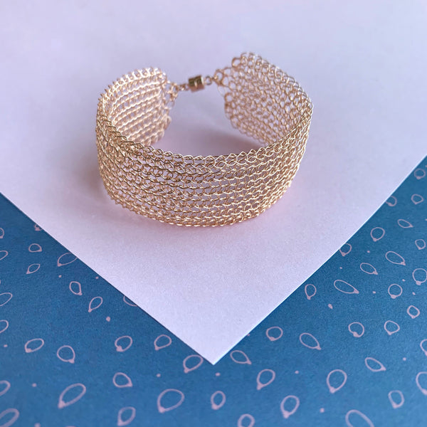 Bracelet Ondes Or Rose