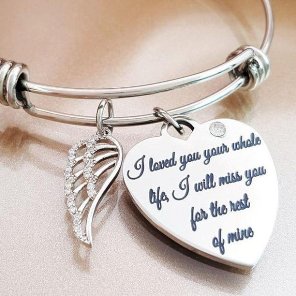 "<img src=""For_The_Rest_Of_My_Life_1.jpg"" alt=""Angel Jewelry - For The Rest of My Life Angel Wing Bracelet - 1"">"