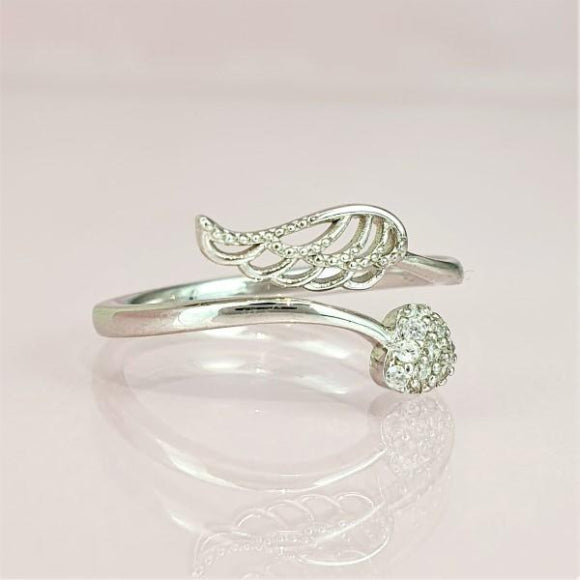 "<img src=""Forever_By_My_Side_Angel_Ring_Sterling_Silver_3.jpg"" alt=""Angel Jewelry - Forever by My Side Sterling Silver Angel Ring - 3"">"