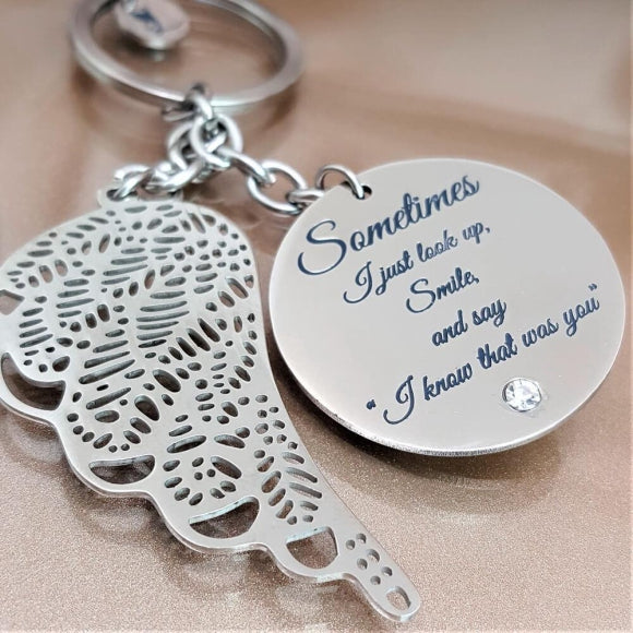 "<img src=""Forever_Close_To_Me_Guardian_Angel_Keychain_1.jpg"" alt=""Angel Jewelry - Forever Close To Me Guardian Angel Keychain - 1"">"