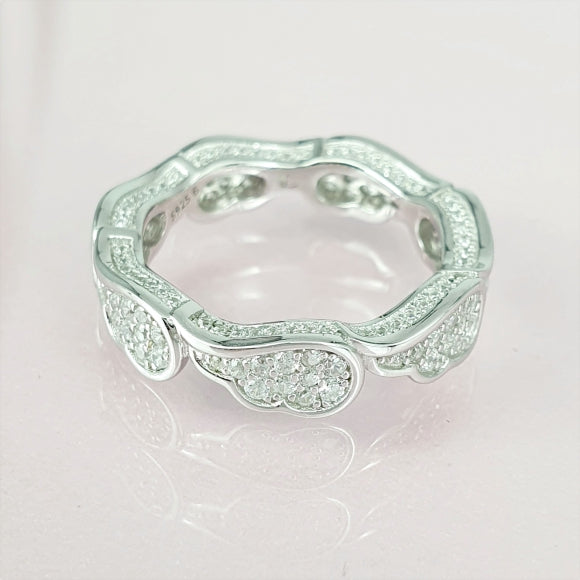 It Will Always Be You Sterling Silver Angel Wing Ring