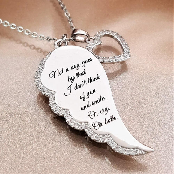 "<img src=""Not_A_Day_Goes_By_Angel_Wing_Necklace_4.jpg"" alt=""Angel Jewelry - Not A Day Goes By Angel Wing Necklace - 4"">"