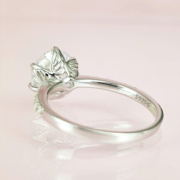 The Scent Of An Angel Rose Sterling Silver Ring