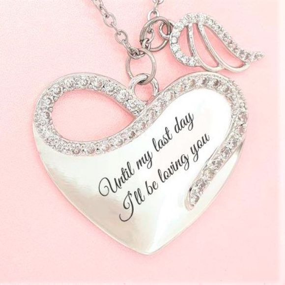 "<img src=""Til_My_Last_Day_Angel_Wing_Necklace_2.jpg"" alt=""Angel Jewelry - Til My Last Day Angel Wing Necklace"">"