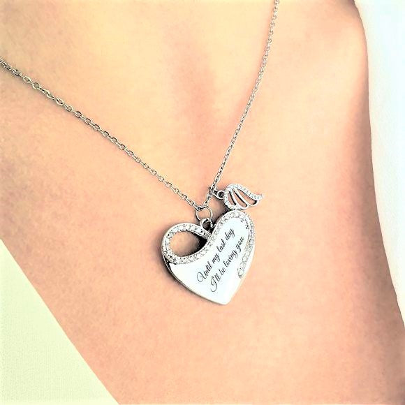 "<img src=""Til_My_Last_Day_Angel_Wing_Necklace_4.jpg"" alt=""Angel Jewelry - Til My Last Day Angel Wing Necklace"">"