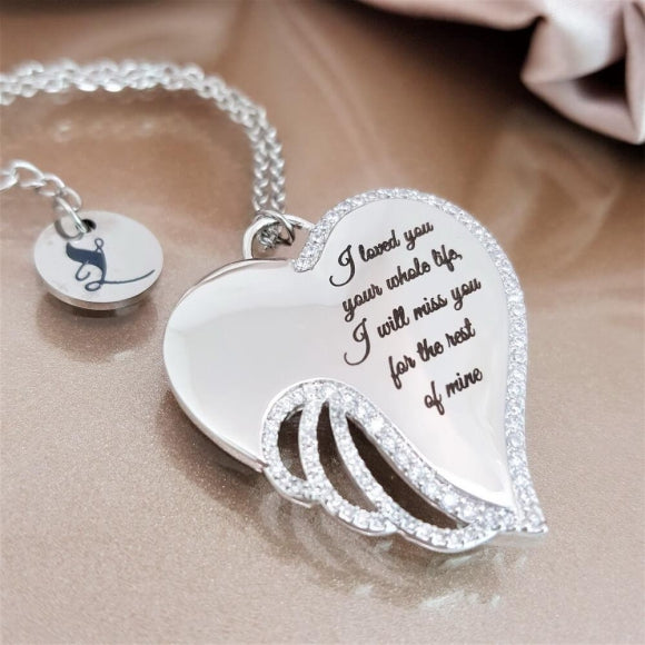 "<img src=""To_the_Angel_I_Will_Miss_Wing_Necklace_4.jpg"" alt=""Angel Jewelry - To the Angel I Will Miss Wing Necklace - 4"">"