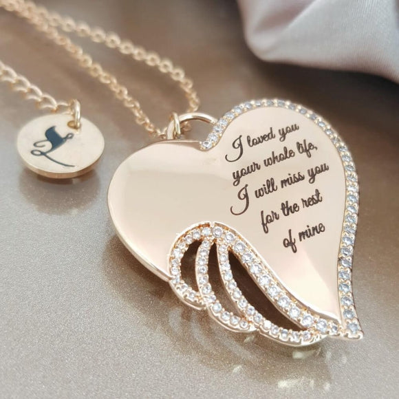 "<img src=""To_the_Angel_I_Will_Miss_Wing_Necklace_5.jpg"" alt=""Angel Jewelry - To the Angel I Will Miss Wing Necklace - 5"">"