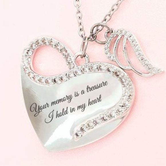 "<img src=""Your_Memory_Is_A_Treasure_Angel_Wing_Necklace_1.jpg"" alt=""Angel Jewelry - Your Memory Is A Treasure Angel Wing Necklace"">"