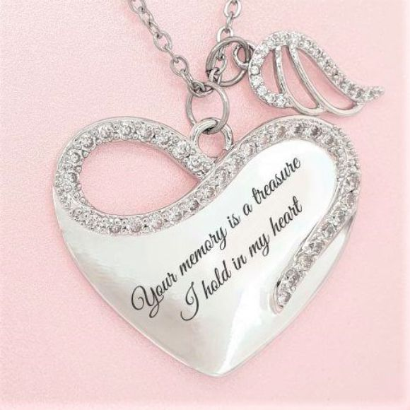 "<img src=""Your_Memory_Is_A_Treasure_Angel_Wing_Necklace_2.jpg"" alt=""Angel Jewelry - Your Memory Is A Treasure Angel Wing Necklace"">"