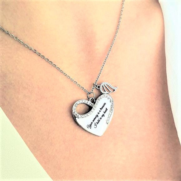 "<img src=""Your_Memory_Is_A_Treasure_Angel_Wing_Necklace_4.jpg"" alt=""Angel Jewelry - Your Memory Is A Treasure Angel Wing Necklace"">"