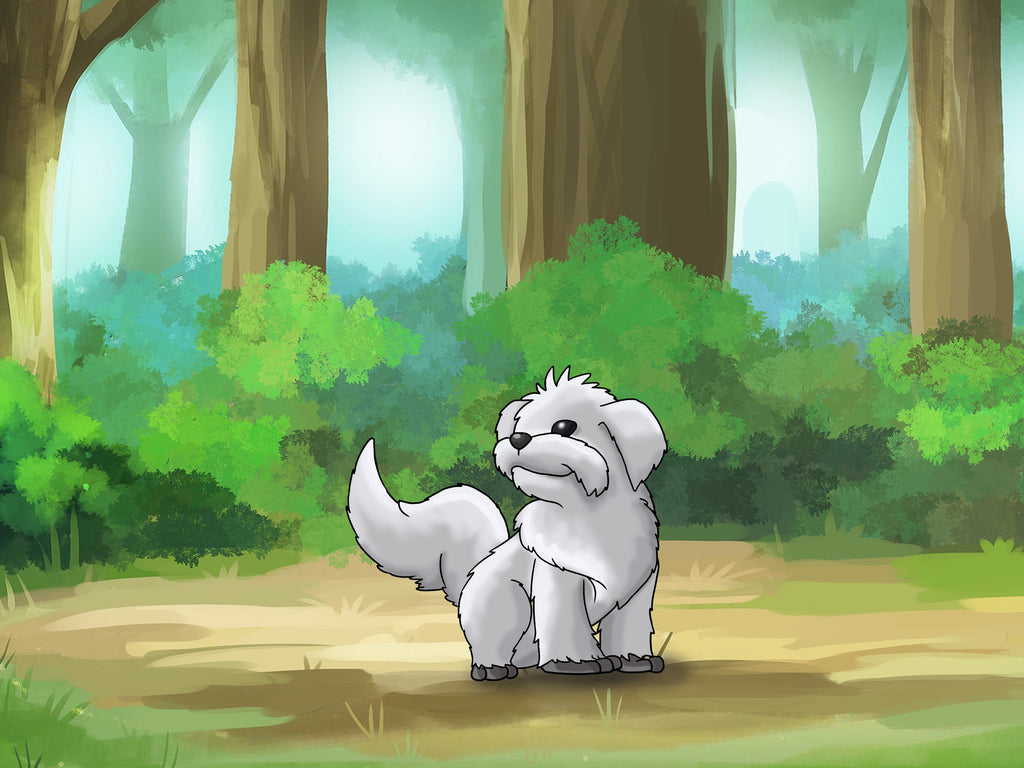 Pet Portrait in Pokemon style