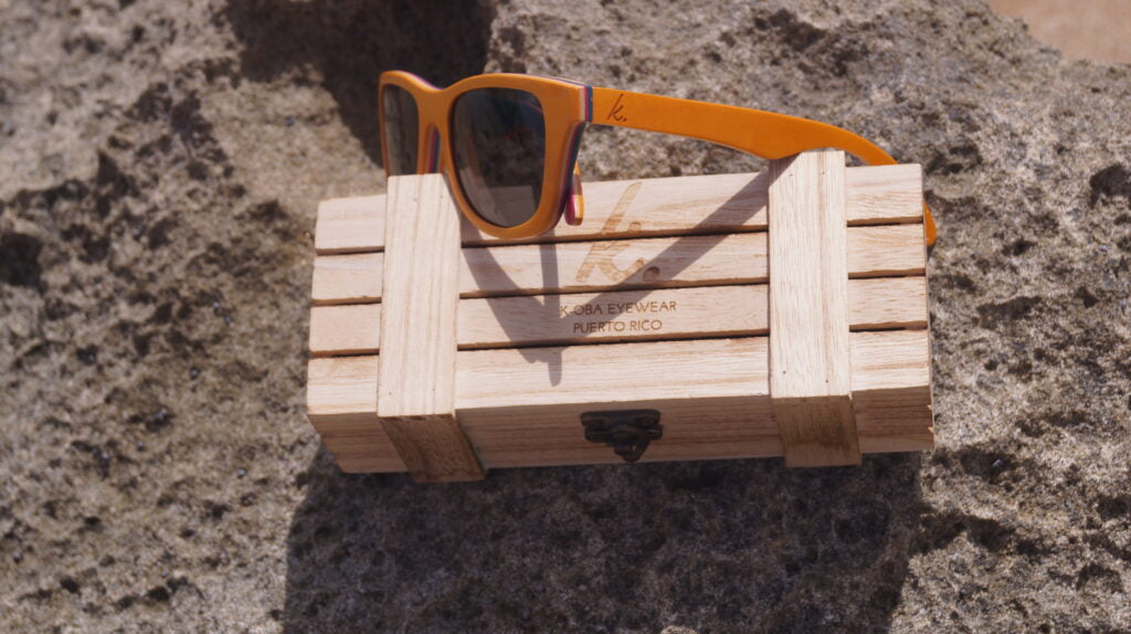 Wooden Sunglasses Inspired By The Rincon Sunsets