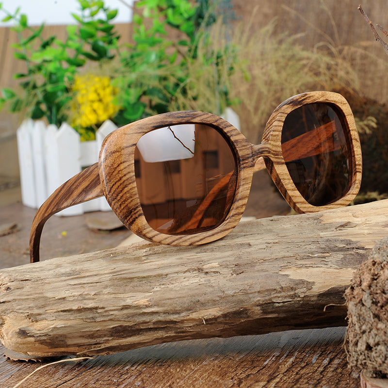 Sandy Wooden Sunglasses / K-OBA Eye-wear
