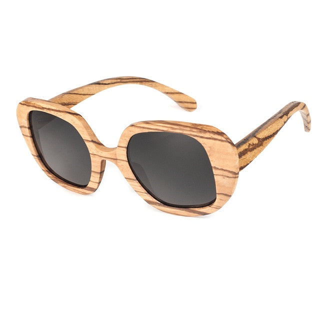 Sandy Wooden Sunglasses / K-OBA Eyewear