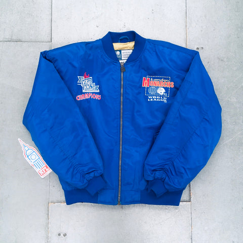 WLAF: London Monarchs 1991 Champions Campri Teamline Jacket (XL)