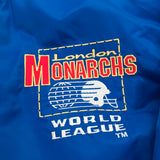 WLAF: London Monarchs 1991 World Bowl Champions Campri Teamline Jacket (XL)