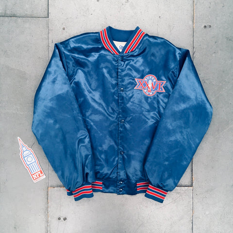 Washington Redskins: 1991/92 Superbowl XXVI Chalk Line Jacket (L)
