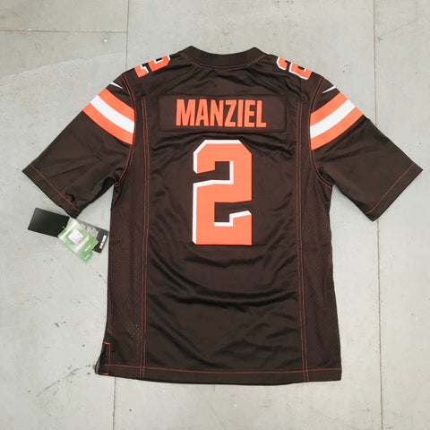 Cleveland Browns: Johnny Manziel 2014/16 Nike DEADSTOCK Jerseys BNWT (S) (L) (2XL)