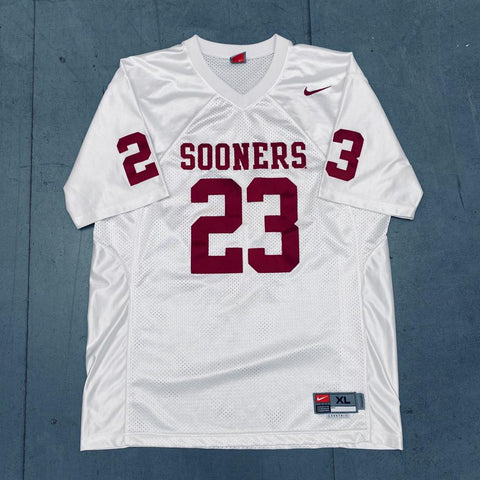 Oklahoma Sooners: No.23 Stitched Nike Jersey (XL)