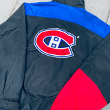 Los Angeles Rams: 1990's Logo Athletic Sharktooth Fullzip Sideline Jacket (XL)