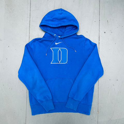 "Duke Blue Devils: 1990's Nike ""Small Tick"" Embroidered Sweat (L)"