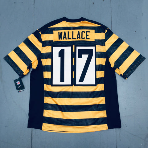 Pittsburgh Steelers: Mike Wallace Throwback 2013/14 (XXL) - BNWT!