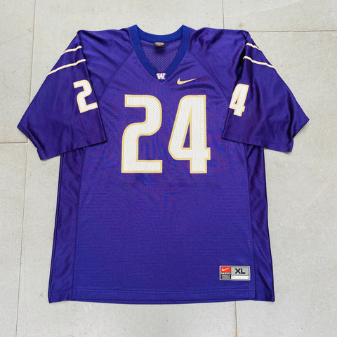 Washington Huskies: No. 24 2000/01 Nike Jersey (XL)