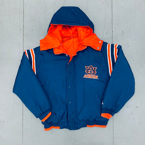 Auburn Tigers: 1990's Genuine Stuff Reversible Fullzip Jacket (S)