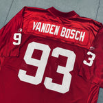 Arizona Cardinals: Kyle Vanden Bosch 2001/02 Rookie (XL)