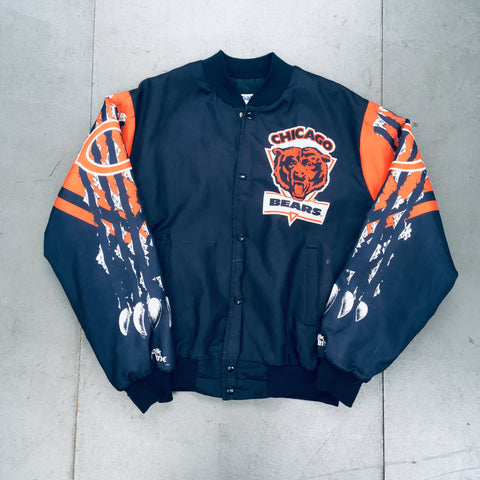 Chicago Bears: 1990's Chalk Line Fanimation Jacket (L/XL)