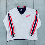 Dallas Cowboys: 1990's NFL Game Day Fullzip Trench Jacket (L)