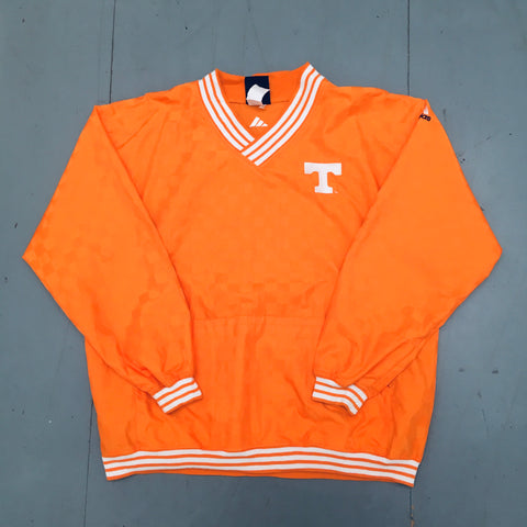 Tennessee Volunteers: 1990's Adidas Checkerboard Sideline Jacket (XL)