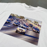 "National Vintage League: ""The Bronco"" Homage Tee"