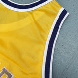 Carolina Panthers: 1995 Inaugural Season 1/4 Zip Reebok Jacket (XL)